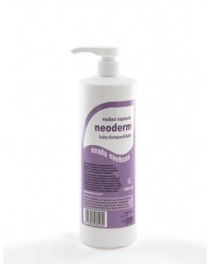 neoderm baby shampoo & bath 1lt